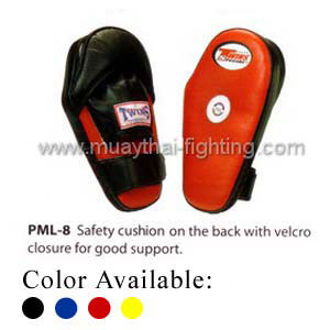 Twins Special Punching Mitts Back Cushion Velcro PML-8