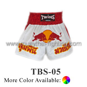 Twins Special Muay Thai Shorts Red Bull TBS-05