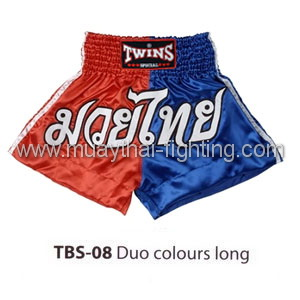 Twins Special Muay Thai Shorts Duo colors long TBS-08
