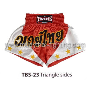 Twins Special Muay Thai Shorts Triangle sides TBS-23