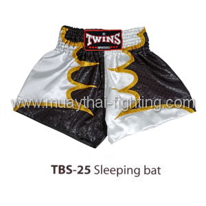 Twins Special Muay Thai Shorts Sleeping bat TBS-25