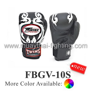 Twins Special Fancy Boxing Gloves Kanok Pattern FBGV-10
