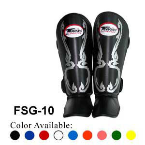 Twins Special Fancy Shin Protection Kanok Pattern FSG-10